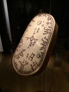 Drum used by Sami people