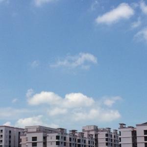Enjoying the lovely skies